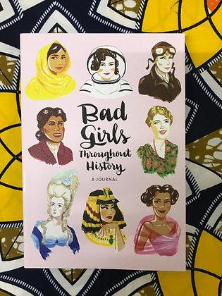 Bad Girls Throughout History Flexi Journal By Ann Shen