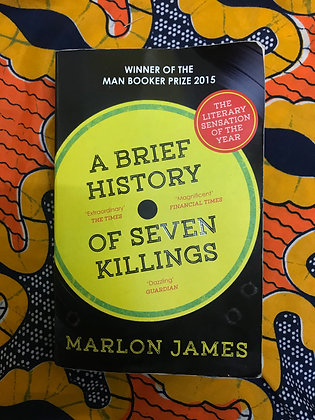 A Brief History of Seven Killings By Marlon James (PRE-BOOK LOVED)