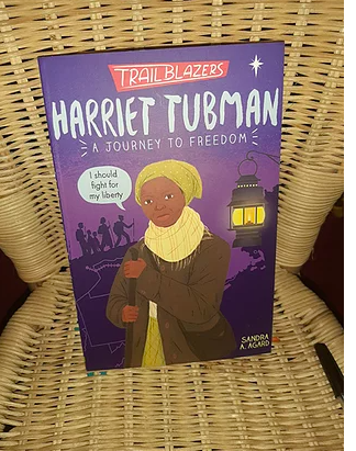 Harriet Tubman - A Journey to Freedom, Sandra Agard / Regular Price 6.99 / On sale at £5.94