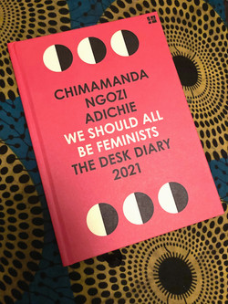We Should All Be Feminists: The Desk Diary 2021 (Hardback) £12.99