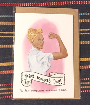 Greetings card - mothers' day