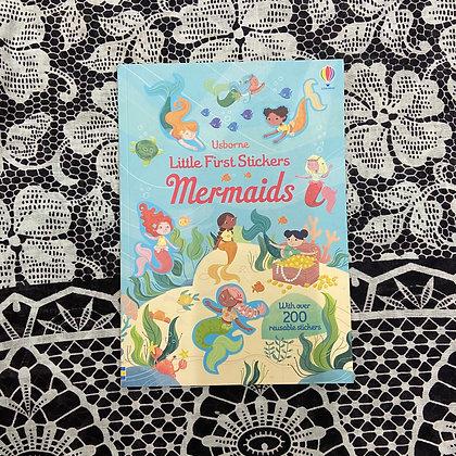 Little First Stickers Mermaids: Usborne by Holly Bathie