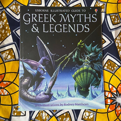 Greek Myths and Legends (Paperback)  by Cheryl Evans and Anne Millard
