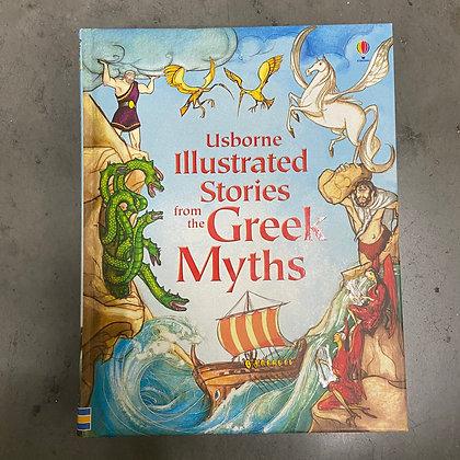 Usborne Illustrated Stories from the Greek Myths - (Hardback)