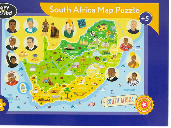 Puzzle: Giant Map Puzzle of South Africa