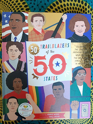 50 Trailblazers of The 50 States by Howard Medal, Abbey Lossing (Illustrator)