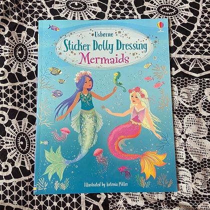 Sticker Dolly Dressing Mermaids - Sticker Dolly Dressing by Fiona Watt