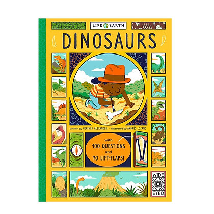 Dinosaurs - Life on Earth (Board book) by Heather Alexander