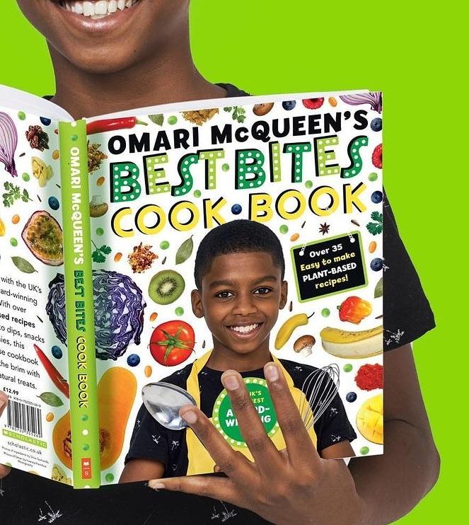 Omari McQueen's Best Bites Cook Book £12.99