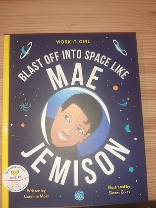 Blast Off Into Space Like Mae Jemison FIRST BLACK WOMAN IN SPACE!!!