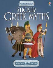 Usborne Stickers Greek Myths