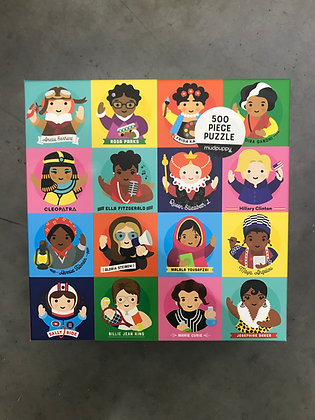 Little Feminist 500 Piece Family Puzzle By Lydia Ortiz