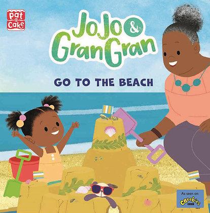 Jo  Jo and Gran Gran go to the beach!