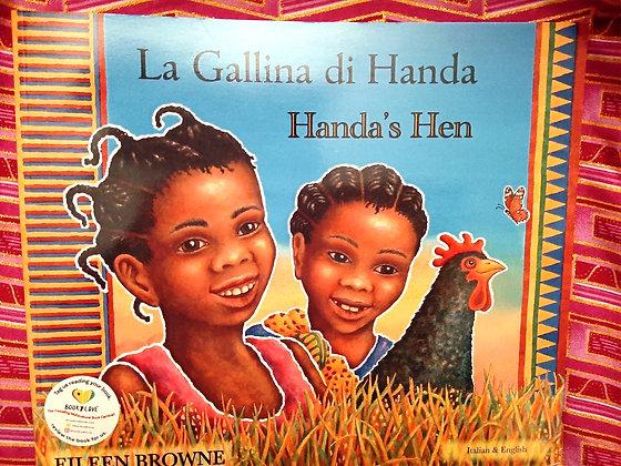 Italian&English-Handa's Hen/La Gallini di Handa by Eileen Browne