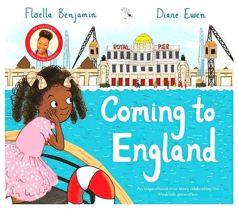 PRE-ORDER Coming To England, Floella Benjamin Hardback (Pre-Order 3-4 week wait)