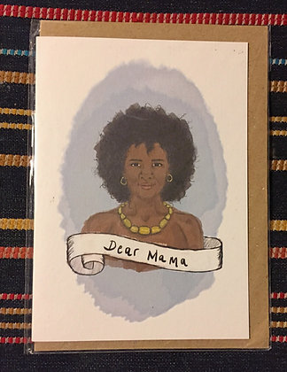 Greetings card - Dear Mama