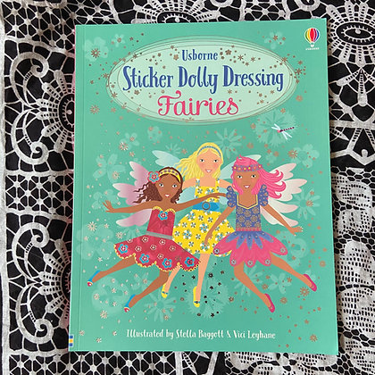 Sticker Dolly Dressing Fairies - Sticker Dolly Dressing by Leonie Pratt
