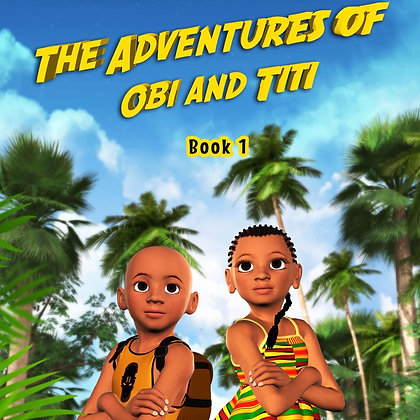 Obi And Titi: The Hidden Temple Of Ogiso
