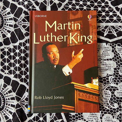 Martin Luther King: Usborne Famous Lives by Robert Jones