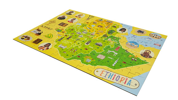 PUZZLE: Giant Map of Ethiopia