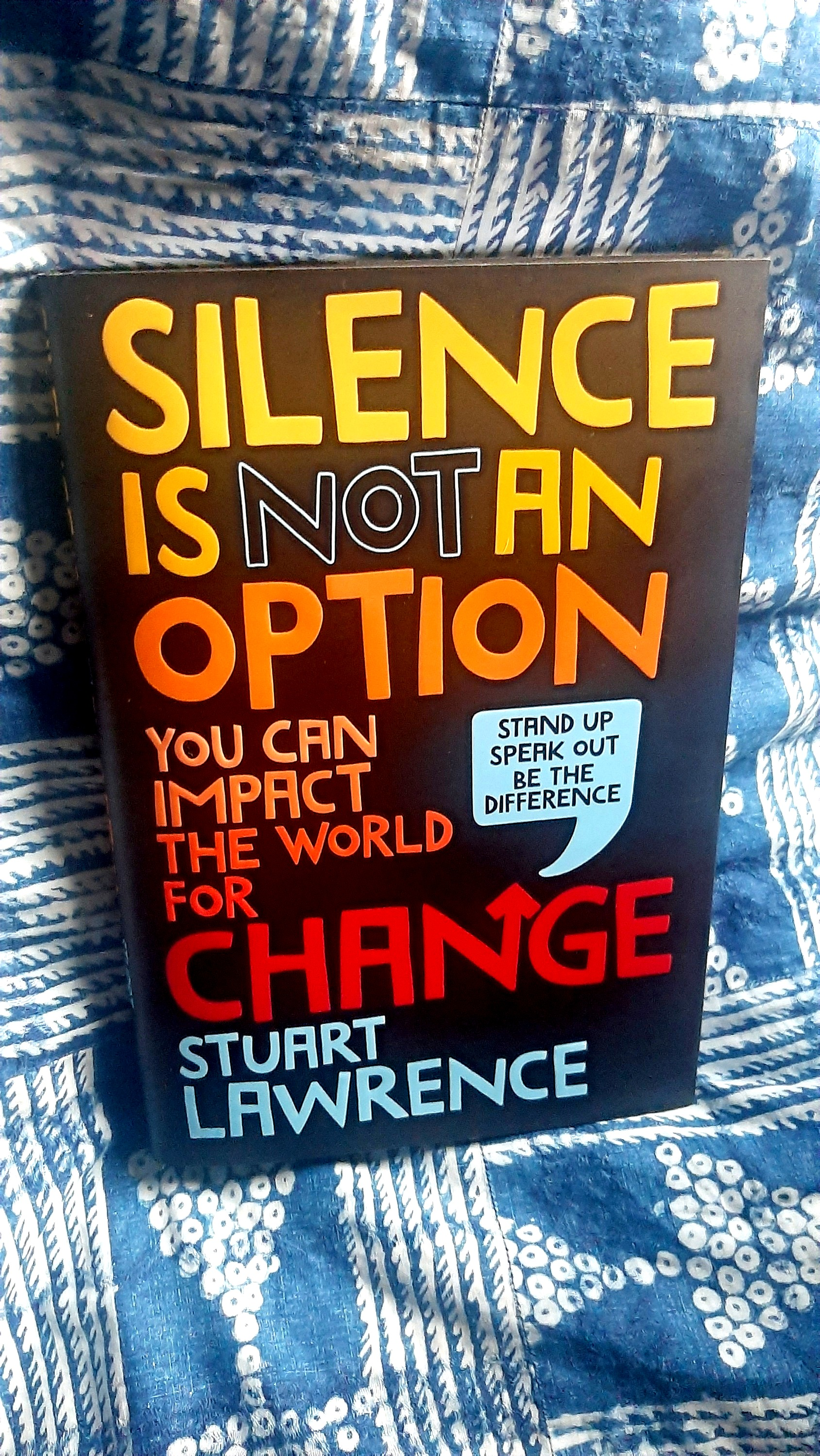 Silence is Not An Option, Stuart Lawrence (Younger brother of Stephen Lawrence)