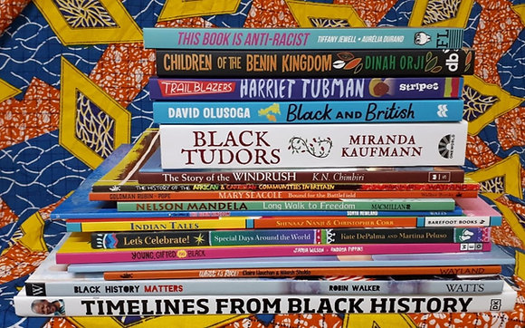 MULTICULTURAL BOOKLOVE BUNDLE FOR  SCHOOL + HOME (Ages 7 - 14+)