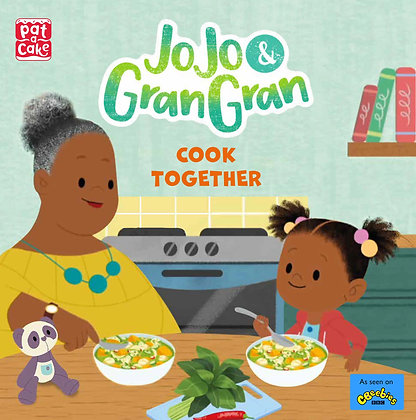 Jo  Jo and Gran Gran cook together! (Pre-order avail September 2nd, 2021)