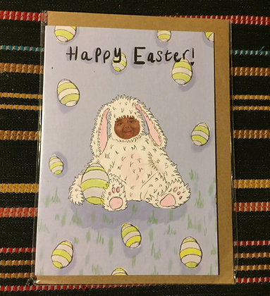 "Greeting card - ""Happy Easter!"""