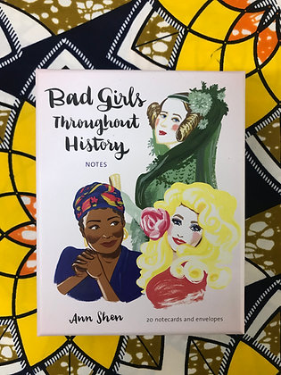 Bad Girls Throughout History Notecards By Ann Shen
