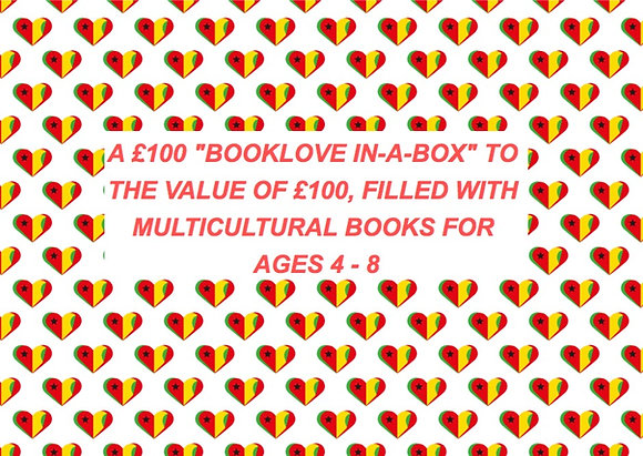 £100 BOOKLOVE-IN-A-BOX  (AGE 4 - 8)