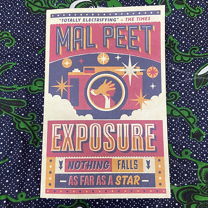 Exposure by Mal Peet (TEEN)