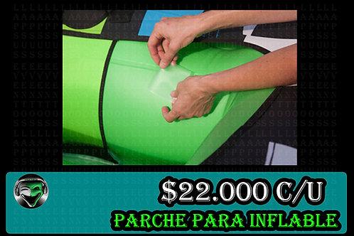 Parche para inflables