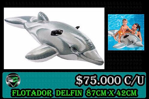 Flotador delfin