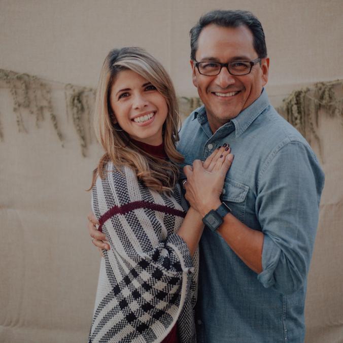 Pastores Manny Andrea Orozco The Rock en