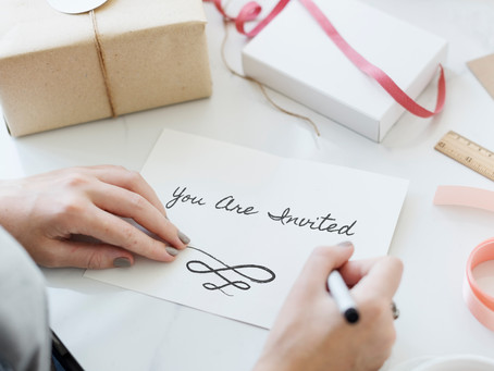 An Invitation with a Personal Touch