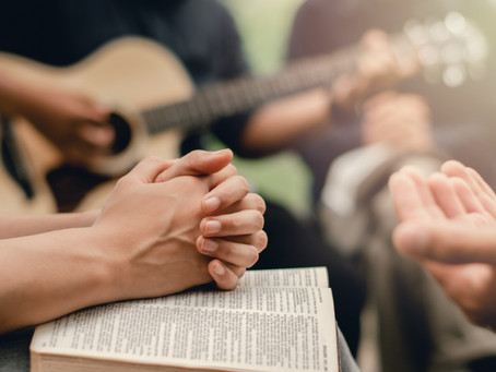 God's Healing Flowing in House Church