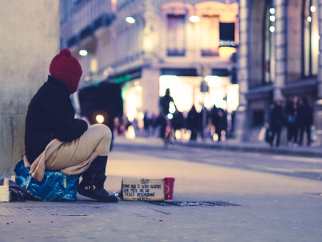Bringing God's Love & Healing to a (Homeless) Woman in Need