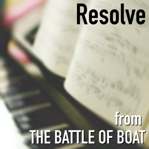 Resolve - Sheet Music & Backing Track