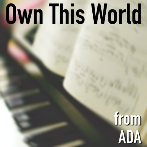 Own This World - Sheet Music & Backing Track