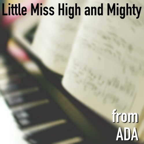 Little Miss High and Mighty - Sheet Music & Backing Track