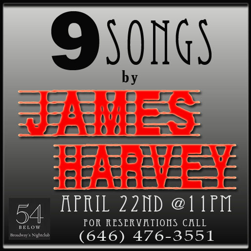 James Harvey 54 Concert - Logo Second Swipe