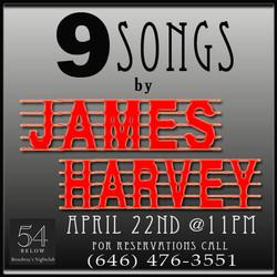 James Harvey 54 Concert - Logo Second Swipe