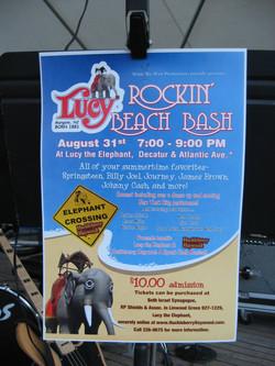 Lucy's Rockin Beach Bash
