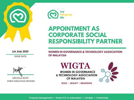 Partnered with WIGTA Malaysia - NGO