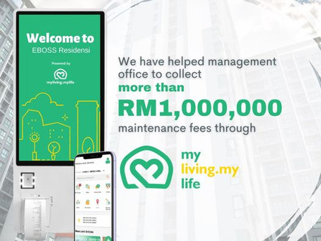 We have helped management office to collect more than RM1,000,000!