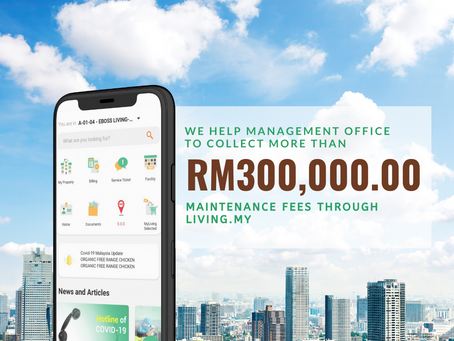 More than RM300k collected in myliving.mylife platform