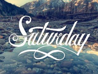 bom sábado.
