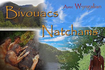 Oasis Natcham, bivouacs chamaniques en p