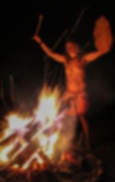 feu chamanique