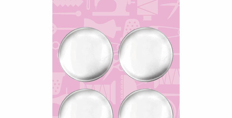 Hemline Metal Cover Buttons